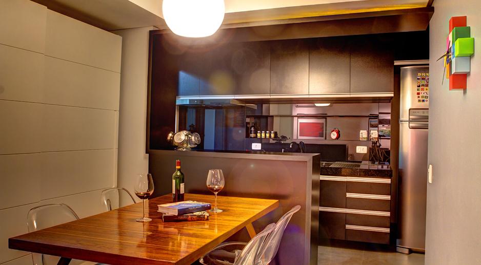 MAXMA STUDIO_APARTAMENTO MOSTARDEIRO - sala de jantar/cozinha